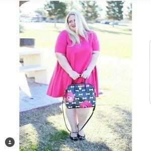 Dresses & Skirts - Pink trapeze dress